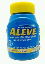 Bayer Aleve  Value Size 320 Tablet Naproxen Sodium Pain Fever Reducer New