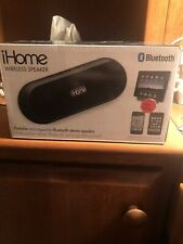 iHome iDM12 Portable Bluetooth Wireless Speaker for iPad/iPhone only