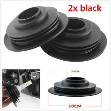 2x Rubber Seal Cap Dust Waterproof Housing Cover 38mm For Car LED HID Headlight