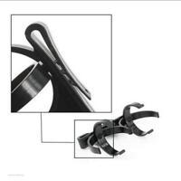 Plastic Golf Ball Holder Clip Clamp for Golfer Club Golf Accessories Black