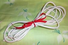 DOLL stringing elastic 5mm ROUND stretch shock CORD white SOLD by the 3 yard Lot