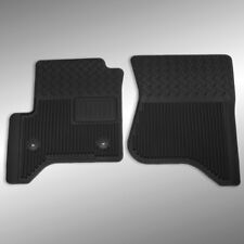 15-16 GMC Sierra 2500HD Front Vinyl Black Floor Mats 19302937 Genuine OEM GM New