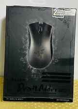 RAZER DEATH ADDER BLACK EDITION*Essential Ergonomic Gaming Mouse*Damage Box. NEW