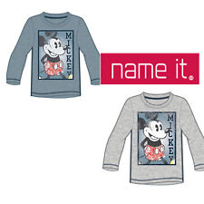 Name it Langarmshirt Nitmickey Bray LS TOP Jungen Micky Maus Mickey Mouse Retro