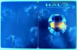 Halo Master Chief Collection Metal Case G2   NO GAME   Xbox One XB1   Steelbook