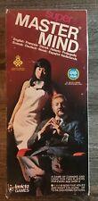 INVICTA SUPER MASTER MIND 1975 BREAK THE HIDDEN CODE COMPLETE BOARD GAME BOX