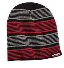 IH INTERNATIONAL HERVESTER *RED /& BLACK PLAID* BEANIE Stocking Hat Cap *NEW*