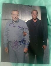 DENNIS HOPPER+KIEFER SUTHERLAND SIGNED 8X10 PHOTO 24 PROMO W/COA+PROOF RARE WOW