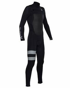 Hurley Men's Fusion 403 Long Sleeve Full Wetsuit - Black (Size XS)