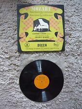 Amadeus Quartet Mozart Piano Quartet No.1 No.2 1953 Decca LXT 2772 Vinyl Record