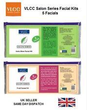 NEW VLCC Salon Series Facial Kit 5 Insta Glow Skin Tightening Cream Ayurvedic