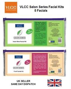 VLCC Salon Series Facial Kit 5 Insta Glow Skin Tightening Cream Ayurvedic