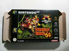 Donkey Kong 64 - PAL  - Nintendo 64 - N64 - Only Box