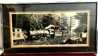 Vintage Art Print Tim Muir Northern Pacific Train Limited Edition Artist Signed