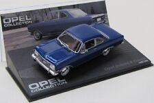 Opel Rekord B ( 1965-1966 ) blau / IXO 1:43