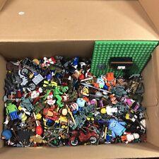Lego, Mega Bloks, Minifigure And Accessory Lot