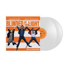"Blinded By The Light, Bruce Springsteen, Soundtrack (NEW 2 x 12"" WHITE VINYL LP)"