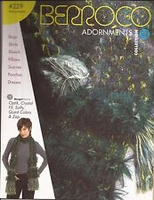 Berroco Knitting & Crochet Pattern Book #229 Adornments 25 designs Bags Skirts +