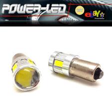 kit de 2 ampoules LED BAX9S H6W 6 SMD 5630 - Blanc - neuf