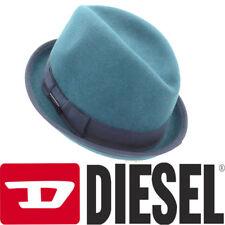 Diesel Calindyr Cappello 00sbm5 Mens Homburg Hats Mens Blue Fedora Summer  Panama 1a612fc5c540