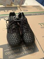 Nike Tiempo Legend VIII 8 Elite FG Soccer Cleats Black Red AT5293-060 Size 7