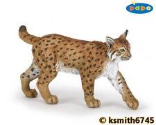 Papo LYNX solid plastic toy wild zoo animal cat predator * NEW *💥