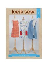 Kwik Sew 4300 Paper Sewing Pattern Xs-Xl Pullover Criss Cross Back Tabard Apron