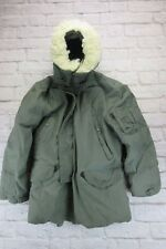 ARMY USAF N-3B SNORKEL PARKA EXTREME COLD WEATHER  MILITARY WINTER JACKET MEDIUM