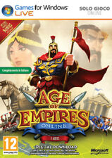 Age Of Empires ONLINE PC          - totalmente in italiano
