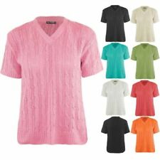Unbranded Cotton V-Neck Jumpers & Cardigans for Women