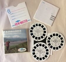 Vintage View-Master Fairbanks Mt. McKinley Yukon Stereo Pictures GAF Packet A104