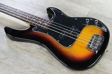 G&L Tribute LB-100 4-String Electric Bass, Brazilian Cherry - 3-Tone Sunburst