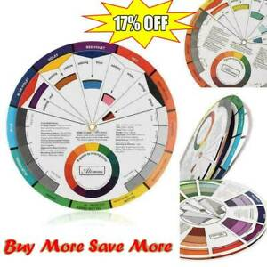 14cm-Portable Color Wheel Mixing Guide For Tattoo S Makeup Paint Hobby