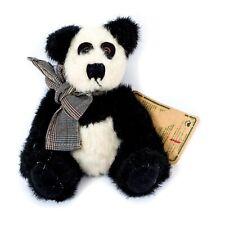 "Boyds Bears Panda Plush 7"" Archive Collection Black White Tag Stuffed Animal"