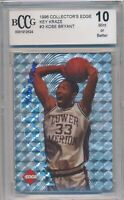 1996 COLLECTOR'S EDGE KEY KRAZE HOLOFOIL #3 KOBE BRYANT ROOKIE CARD BCCG 10 MINT