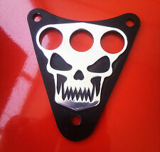 Skull Dash Plaque Cover - KAWASAKI  VN800 EN500LTD VULCAN CLASSIC DRIFTER