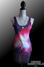Robe courte femme Collection Galaxy Stars Etoiles