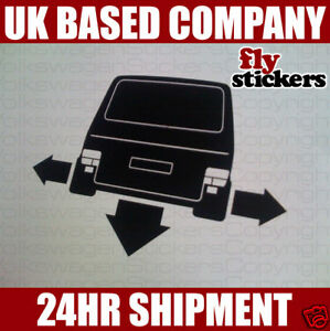 NEW* Down and Out Sticker,Volkswagen T4 Caravelle