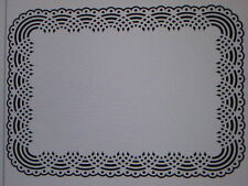 """Darice Embossing Folder """"Doily Background"""" 1218-99 For Cards Or Scrapbooking"""