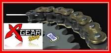 CATENA XHRG AFAM PASSO 520 RINFORZATA  per moto fino 1000 ORO XHR-G bike chain