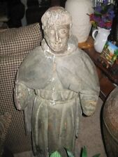"The Badillo Collection Rare 18th Century ""St. Francis"" Statue !"