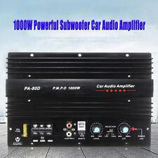 12V 1000W Mono Coche Car Audio Amplificador Alta Potencia Subwoofers Amp PA-80D