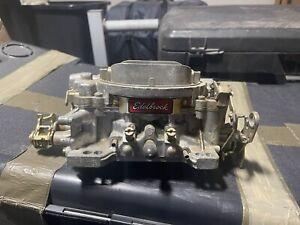 edelbrock carburetor 600 cfm manual choke