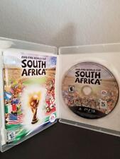 2010 FIFA World Cup South Africa Sony PlayStation 3 PS3 Original Case Manual S12
