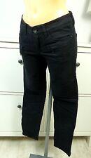 GDESIGN Ankle Jeans Röhre Denim Hose Trousers Pants Schwarz Gr. 36 S (A170)