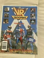 Sabans VR Troopers Magazine 1 Power Rangers Rare Magazine First Issue High End