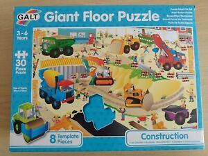 Galt Toys Giant Floor Puzzle Construction Site Jigsaw