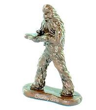Star Wars Chewbacca Crossbow Figurine Micro Machines Galoob Chewie Bronze Finish