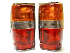 MITSUBISHI L200 Pickup 1986-1994 Posteriore Tail segnale STOP LUCI LAMPADE Set 1 Chrome