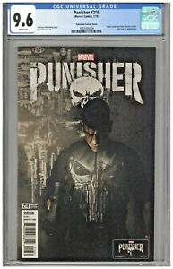 Punisher #218 CGC 9.6 Television Variant Cover Edition Castle War Machine 2018
